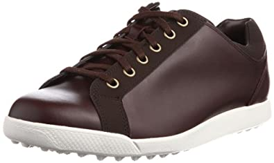 FootJoy Mens Contour Casual Spikeless Golf Shoes Coffee (7.5W)
