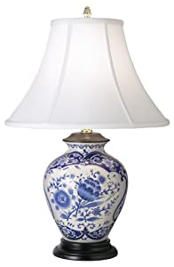 blue and white porcelain ginger jar table lamp. Black Bedroom Furniture Sets. Home Design Ideas