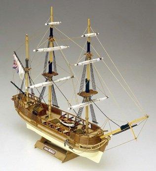 HMS Beagle 3-Masted 1817 British Brig Ship 1/121 Mamoli