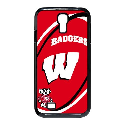 Simple Creative NCAA Wisconsin Badgers Samsung Galaxy S4 I9500 Case Cover snap on cases Covers at Amazon.com