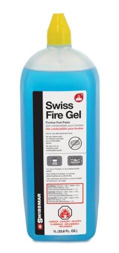 Swissmar F65400 Swiss Fire Gel for Fondues (1 Liter)