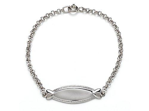 Sterling Silver Children ID Bracelet LIFETIME WARRANTY