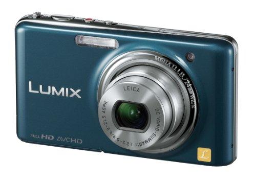 Panasonic デジタルカメラ LUMIX FX77 スエードブルー DMC-FX77-A