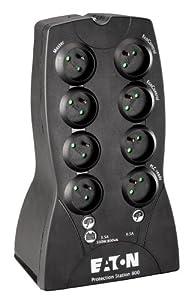 Eaton (MGE) 61081 Protection Station 800 Onduleur à économie d'énergie USB FR