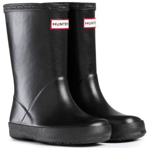 Unisex Bambini Hunter Bambini First Classic Impermeabile Stivali Da Pioggias EU - Nero - 32