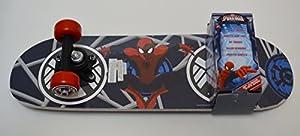 Spiderman Kid's Junior Skateboard, 21-inch