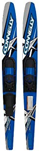 Connelly Quantum Combo Pair Water Skis with Slide Adjustable Bindings