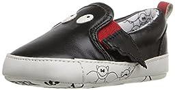 Rosie Pope Kids Footwear Prewalker Bat Crib Shoe (Infant), Black, 0-3 Months M US Infant
