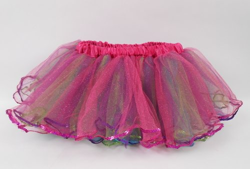 REVERSIBLE RAINBOW TUTU (EACH)