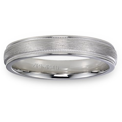 11-Wv7382W-G Courtland Wedding Bands From Artcarved