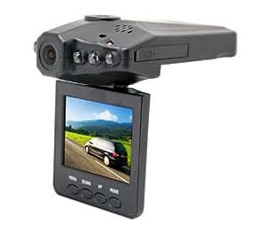 "HD Portable DVR with 2.5"" TFT LCD Screen Vehicle Backup Car Cameras LCD 270° LSRotator - 6 IR LED Camera Digital Video Recorder HD Car DVR Car Vehicle Road Black"