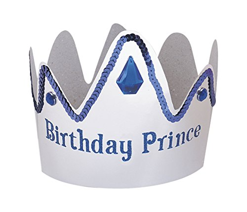 Paper Birthday Prince Crown