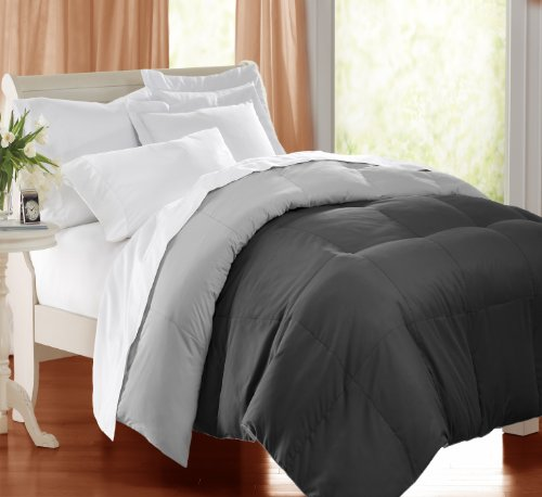 Blue Ridge Home Fashions TXL Microfiber Reversible Down Alternative Comforter