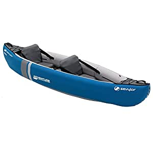 Sevylor Adventure Inflatable Canoe - Blue/Grey