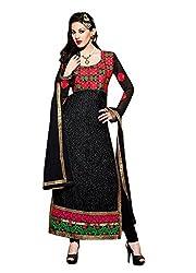 TEXCLUSIVE Women's Brasso Dress Material (texamayra4 _Khaki Brown)