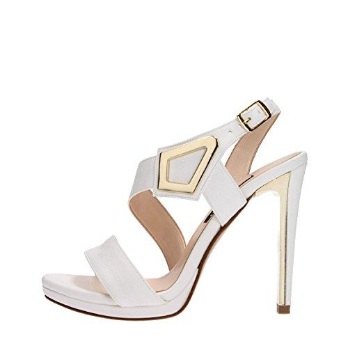 Albano 3525 Sandalo Donna Pelle Bianco Bianco 35