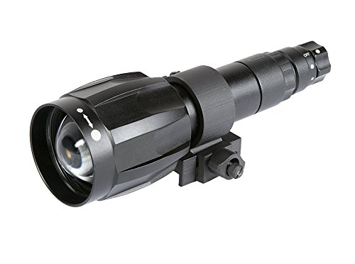 Armasight XLR-IR850 Detachable X-Long Range Infrared Illuminator with Adapter 118 for PVS-14, Rechargeable Battery, and Charger