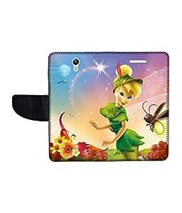KolorEdge Printed Flip Cover For Lenovo S1 Multicolor - (1478-50KeMLogo09903LenovoS1)