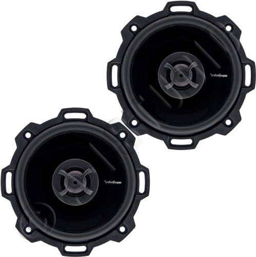 Rockford Fosgate Punch P142 4-Inch  Full Range Coaxial Speakers (Hummer Shaped Speakers compare prices)