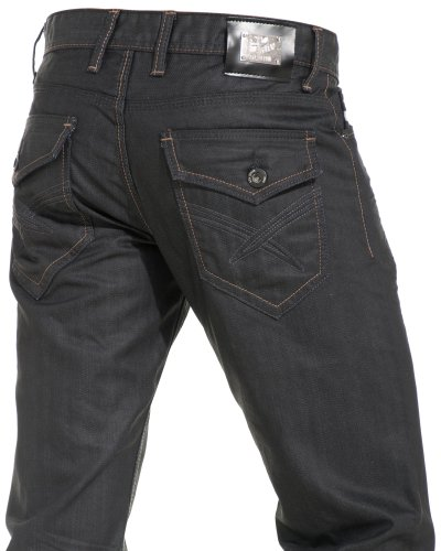 Gov denim - Black jeans and fashion man trend - Size: Fr 48 US 38 Color: Black