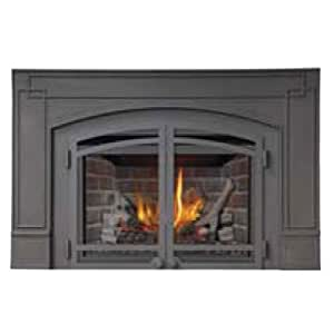 Wolf Steel Xir3n Napoleon Deluxe Natural Gas Fireplace Insert Home Kitchen