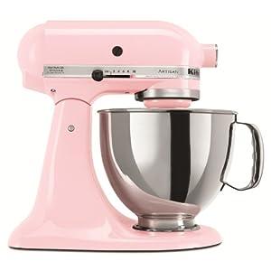 kitchenaid ksm150pscpk artisan 5 quart stand mixer pink