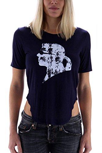 karl-lagerfeld-t-shirt-damen-dunkelblau-gr-s