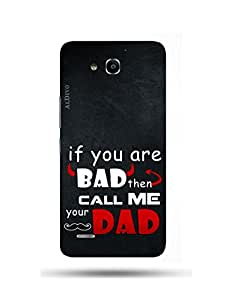alDivo Premium Quality Printed Mobile Back Cover For Huawei Honor 3X / Huawei Honor 3X Back Case Cover (MKD303)
