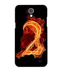 Fuson Premium 2D Back Case Cover No.2 With Brown Background Degined For Samsung Galaxy Mega 2 SM-G750H