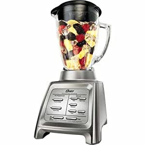 Oster Dual Action Blender BLSTRM-DZ 600 watt Brushed Stainless Steel