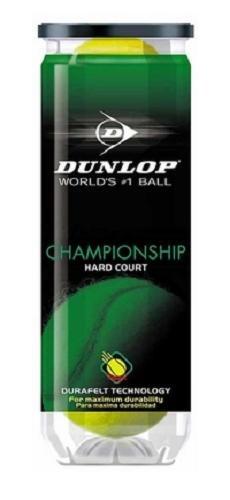 Dunlop Sports Champ All Surface HA 6X3 Ball Can