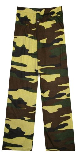 Buy Olive Green Camo Lounge Pants for men