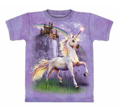 The Mountain Unicorn Castle Purple T-shirt M