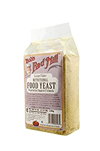 Bob's Red Mill T6635 Large Flake Yeast, 8-Ounce Packages (Pack of 4)