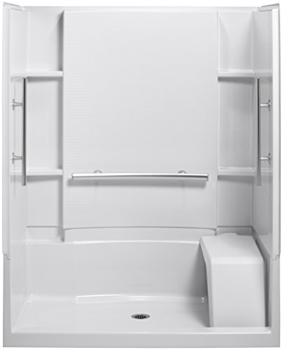 Great Deal! Sterling Plumbing 72290103-N-0 Accord 36-Inch x 60-Inch x 74-1/2-Inch Shower Kit with Se...