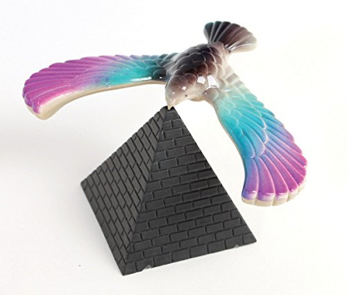 Amazing Balancing Bird with Triangle Stand - CNH (Color May Vary) - 1