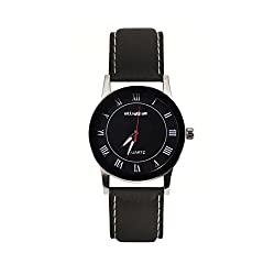 Elligator Analogue Black Dial Men's Watch - ELW505