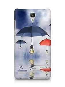 Amez designer printed 3d premium high quality back case cover for Xiaomi Redmi Note Prime (Art Reflection)