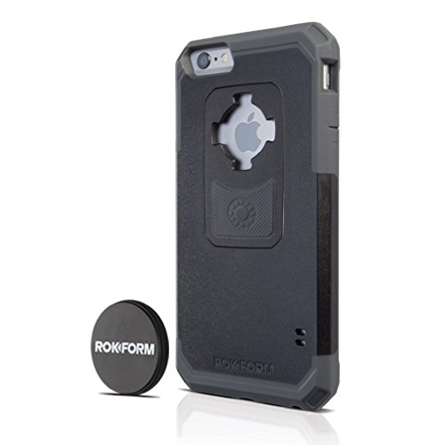 Rokform iPhone 6/6s PLUS Sport Series Case/Cover, Slim, Rugged, Ultra Protective, Reinforced TPU Corners Molded to Tough Polycarbonate, Mounts anywhere