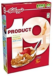Kellogg\'s, Product 19 Cereal, 12oz Box (Pack of 4)