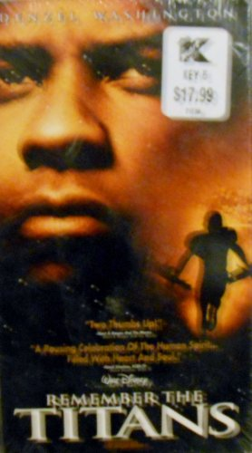 Remember The Titans [Vhs]