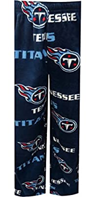 "Tennessee Titans NFL ""Facade"" Men's Micro Fleece Pajama Pants"