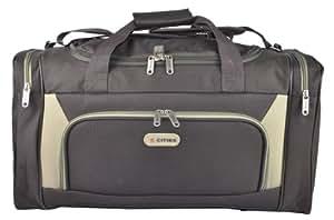Plus léger du monde 5 villes de taille de la cabine (0,65 kg seulement!) Fourre-fits Ryan Air / Easy Jet 55 x 40 x 20 vol sac. 54x30x20 dimension réelle, Massive Capacité 32L - L'ultra-léger bagage à main cabine! chocolat/beige