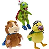 Fisher-Price Wonder Pets Set of 3 Linny, Tuck, Ming Ming 10 inch Plush Dolls