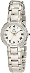 Bulova Womens 96R159 Classic Round Diamond Accented Watch