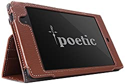Poetic Slimbook Case for Google Nexus 7 FHD 2nd Gen 2013 Android Tablet Brown (3 Year Manufacturer Warranty From Poetic)