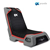 Proxelle Video Game Chair, Dual 3W Speakers (PS4/PS3/PS2 Xbox One/Xbox 360/Nintendo Wii) Connect through TV, DVD, iPod, iPhone Android and MP3. from Proxelle