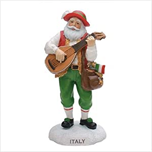 Click to buy Italian Christmas decorations : Santa figurine from Amazon!