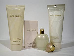 Avon 3-pc Set RARE PEARLS Eau de Parfum Spray, Body Lotion and Shower Gel