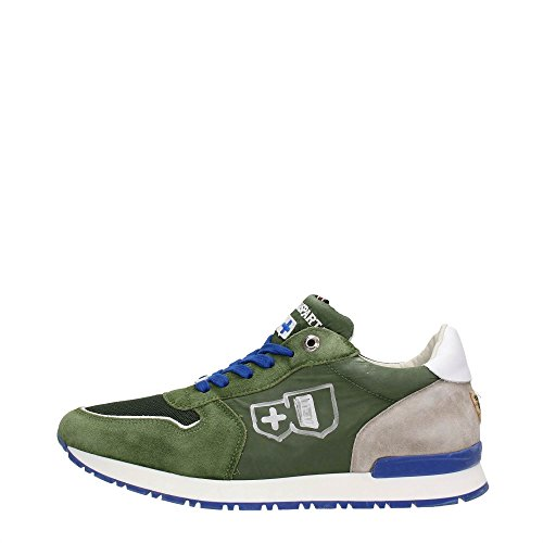 D'Acquasparta Botticelli Sneakers Uomo Tessuto Green Green 45